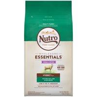 NUTRO WHOLESOME ESSENTIALS Adult Dry Dog Food Small Bites Pasture-Fed Lamb & Rice Recipe, 5 lb. Bag