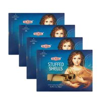 (4 Pack) Gia Russa Stuffed Shells Pasta, 12 oz