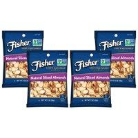 (4 Pack) Fisher Chef's Naturals Sliced Almonds, Non-GMO, 2 oz