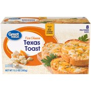 Great Value Frozen Five Cheese Texas Toast, 8 Count
