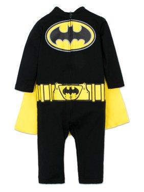 Baby Boys Batman Sleep N Play Coverall with Cape 18 Months