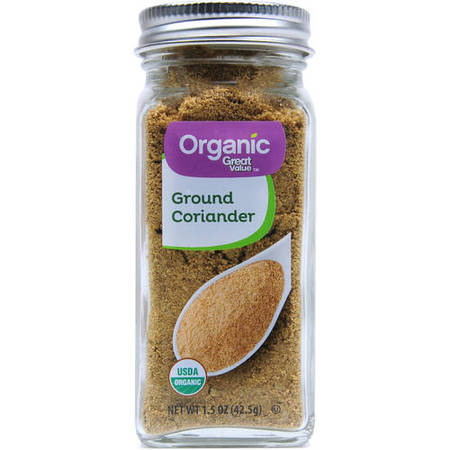 Great Value Organic Ground Coriander, 1.5