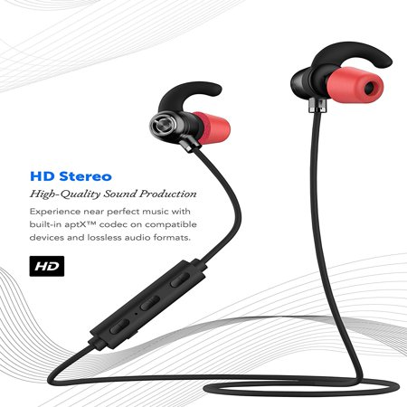 Ixir ZTE Axon Bluetooth Headset In-Ear Running Earbuds IPX4 Waterproof with Mic Stereo Earphones, CVC 6.0 Noise Cancellation, works with, Apple, Samsung,Google (Arkon Bluetooth)