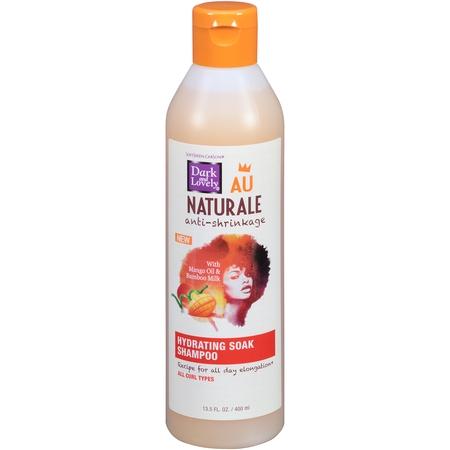 SoftSheen-Carson Dark and Lovely Au Naturale Anti-Shrinkage Hydrating Soak Shampoo, 13.5 fl oz