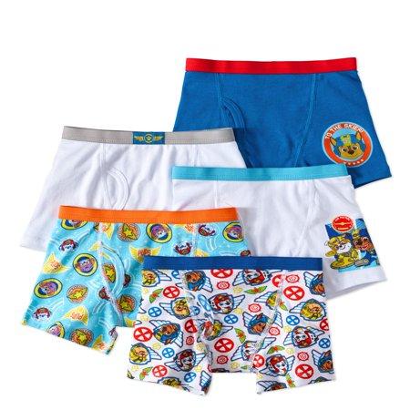 PAW Patrol Boys Boxer Briefs, 5 Pack - Boys Under Pants