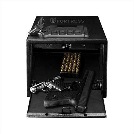 Fortress P2EA Handgun Safe with Electronic - Bird Safe Side Mount