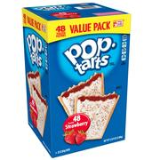 Kellogg's Pop-Tarts, Frosted Strawberry, 88 Oz (48 Count)