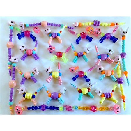 Wholesale Lot 40 Assorted Twisty Pet Bracelets Party Favors BEST PRICE](Party Supply Wholesale Miami)