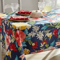 """The Pioneer Woman Fiona Tablecloth, 60""""W x 84""""L , Multiple Sizes"""
