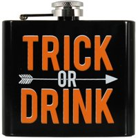 Trick Or Drink Stainless Steel Flask 42397JC-1-A