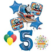 The Ultimate Thomas Train Engine 5th Birthday Party Supplies