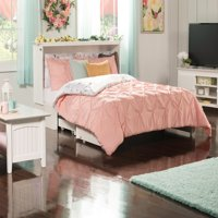 Madison Murphy Bed Chest with Charging Station & Coolsoft Mattress in Multiple Colors and Sizes