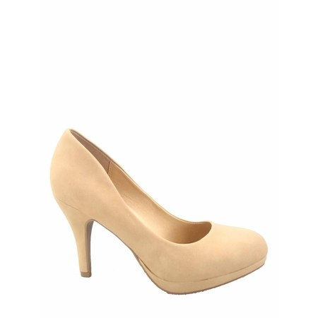 Jack-h Women's Fashion Comfort Round Toe Low Platform High Heel Pump Dress Shoes - Fetish High Heel Shoes