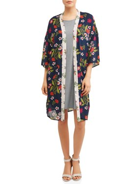 Women's 2fer Dress and Kimono