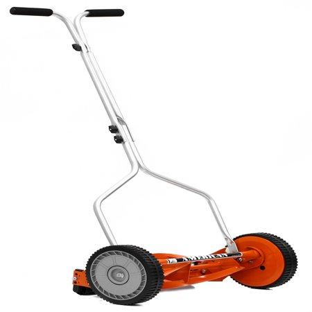 American Lawn Mower 1204-14 14-Inch 4-Blade Push Reel Lawn (Best Powered Reel Mower)