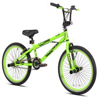 """Madd Gear Boys' 20"""", Freestyle BMX Bicycle, Green, For Ages 8-12"""