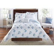 Mainstays Seashell Bed in a Bag Coordinating Bedding Set