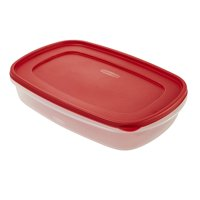 Rubbermaid Food Storage Container with Easy Find Lid, 1.5 Gallon/5.68 Liter