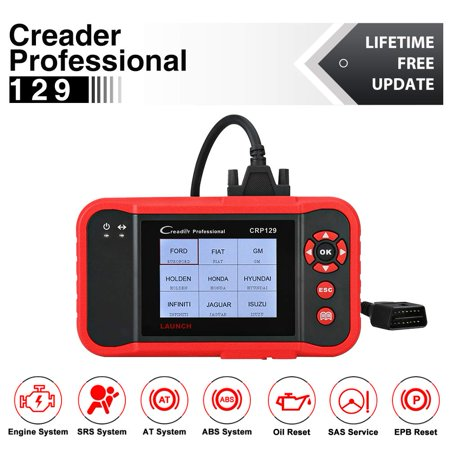 Launch X431 CRP129 OBD2 Diagnostic Code Reader ENG/AT/ABS/SRS EPB SAS OIL Service Light Resets For Mechanic and Experienced