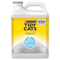 Purina Tidy Cats Clumping Cat Litter; Glade Clear Springs Multi Cat Litter - 20 lb. Jug