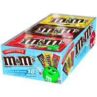 M&M's, Chocolate Candy Variety Pack, 18 Ct