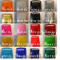 """Vinyl Roll Oracal 651 Adhesive Backed Vinyl 12"""" x 5' Choose your colors"""