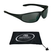 8b0f5535d2 Sun Reader Bifocal Sunglasses Z87 Safety Rated Sports Wrap +1.50