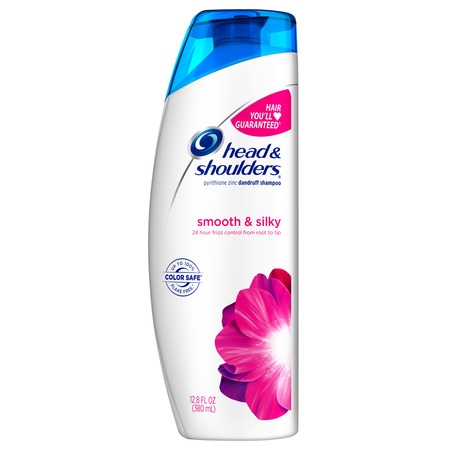 Head and Shoulders Smooth & Silky Dandruff Shampoo, 12.8 fl oz (Head & Shoulders Zinc Shampoo)