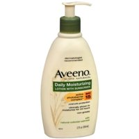 6 Pack - AVEENO Active Naturals Daily Moisturizing Lotion With Sunscreen SPF 15 12 oz