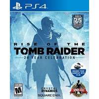 Rise of the Tomb Raider: 20 Year Celebration, Square Enix, PlayStation 4, 662248918921
