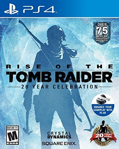 Rise of the Tomb Raider: 20 Year Celebration, Square Enix, PlayStation 4,
