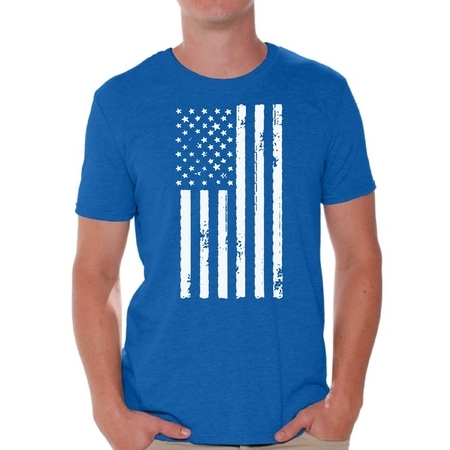 Awkward Styles American Flag Shirts for Men USA Shirt Men's Patriotic Outfit USA Flag T Shirts 4th of July Tshirt Tops Independence Day Gifts USA Tee Shirts for Men](60s Outfit Men)