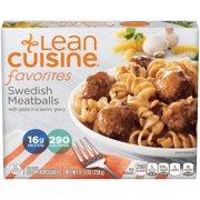 LEAN CUISINE FAVORITES Swedish Meatballs 9.13 oz. Box