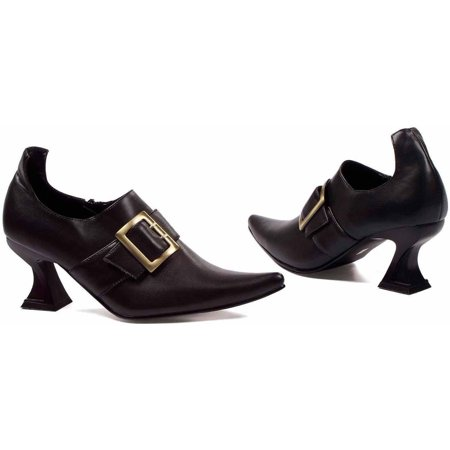 Hazel Black Shoes Women's Adult Halloween Costume Accessory - Black Costumes For Halloween