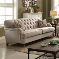 "ACME Alianza 85"" Sofa with 2 Pillows in Multiple Colors"
