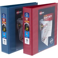 "Avery 2"" Heavy Duty View Red/Blue Binder, Assorted Master Case"
