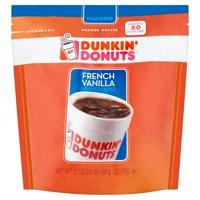 Dunkin' Donuts French Vanilla Ground Coffee, 24 oz