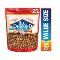 Blue Diamond Almonds, Smokehouse 25 oz