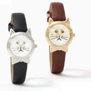2c52c09777c6 Bow Tie Affair Cat Watch With Diamond Crystal Bow