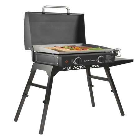 Blackstone 22 in. Griddle with Hood, Legs, and Bulk Adapter Hose