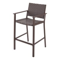 Better Homes & Gardens Cameron Park Patio Wicker Bar Chair