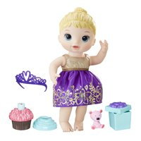 Baby Alive Cupcake Birthday Baby, Blonde Hair, Ages 3 and up