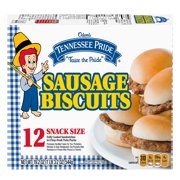 Odom's Tennessee Pride Sausage Biscuits, 12 Count