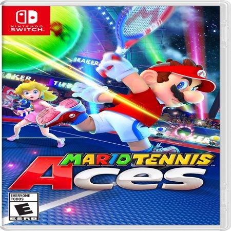 Mario Tennis Aces, Nintendo, Nintendo Switch, 045496592639 - Mario Halloween Game