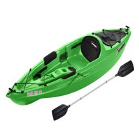 Sun Dolphin Bali 10' Sit-On Kayak Lime, Paddle Included