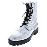 4aa64a050 Michael Kors Womens Gita Crackle Leather Combat Boots