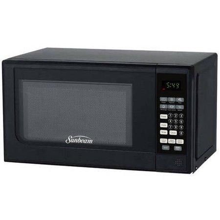 - Sunbeam 0.7 cu ft Digital Microwave