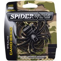 SpiderWire Stealth Camo Braid Fishing Line