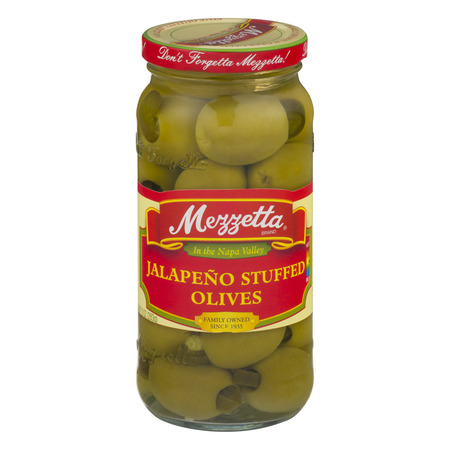 - Mezzetta Jalapeno Stuffed Olives, 10.0 OZ