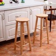 Swell Wood Stools Walmart Com Inzonedesignstudio Interior Chair Design Inzonedesignstudiocom